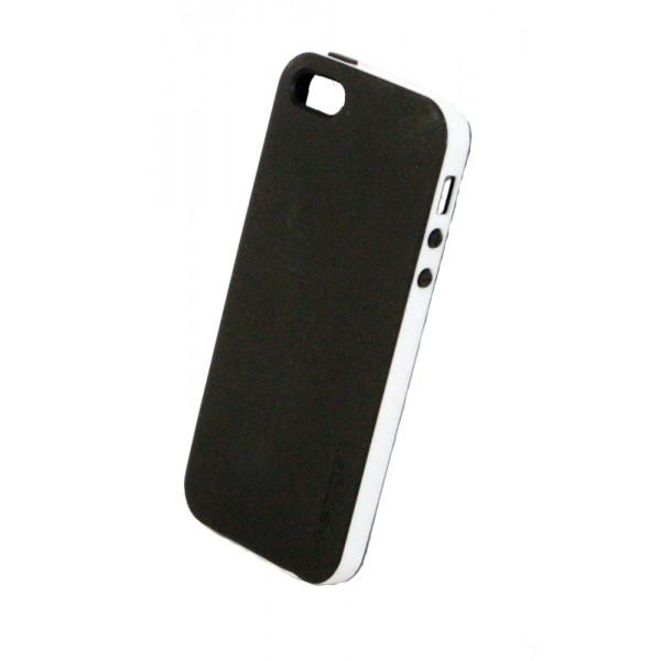 Чехол Накладка для iPhone 4/4S SGP NEO HYBRID  (Белый) (Пластик)