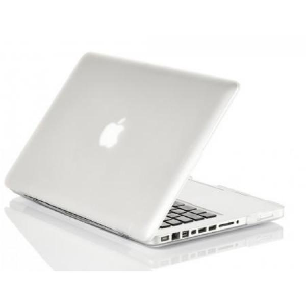 Чехол накладка MacBook Pro 13 Slim Case (Белый) (Пластик)