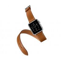 Ремешок для Apple Watch Hermes Buckle Leather 38mm (Цветной) (Кожа)