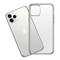 Чехол Накладка для iPhone 11 Pro Shining Matte Case (silver)