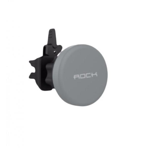 Автомобильный держатель ROCK Universal Graviti Air Vent (Gray)