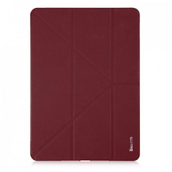 Чехол накладка iPad Pro 10.5 Baseus Simplism Y-type Leather Case (wine red)