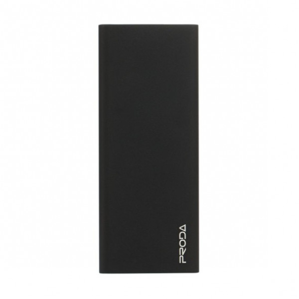 Портативное зарядное устройство PRODA POWER BANK Vanguard PP-V12 (SLIMS) (12000mAh) (Черный)