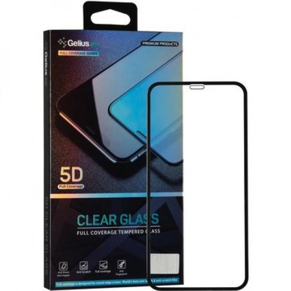 Защитное стекло для iPhone Xr Gelius Pro 5D (black)