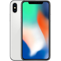 Apple iPhone X 64GB (Silver) (MQAD2)