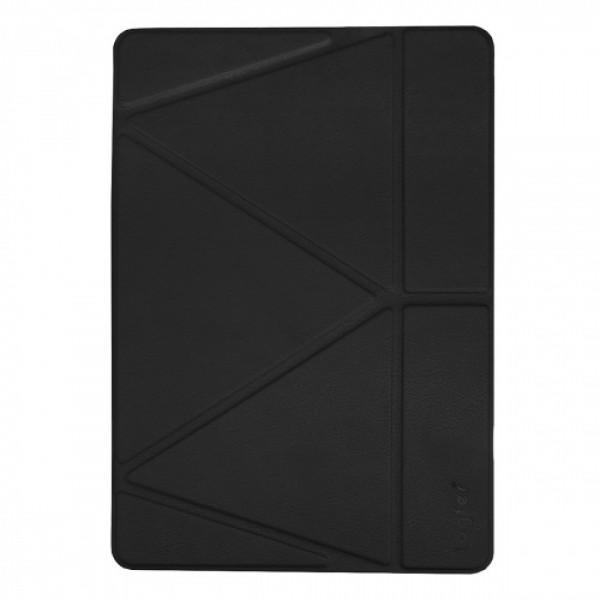 Чехол книжка для iPad Air 10.9 (2020) Origami Leather Case Pencil Groove (Black)