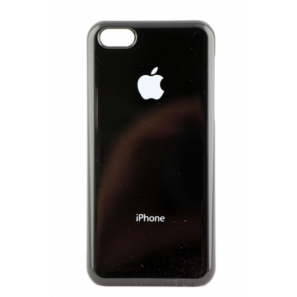 Чехол Накладка для iPhone 5C I-MAX ORG SHINE (Черный) (пластик)