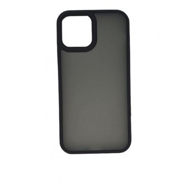 Чехол iPhone 12 Pro Max Rock Guard Series Matte (black)