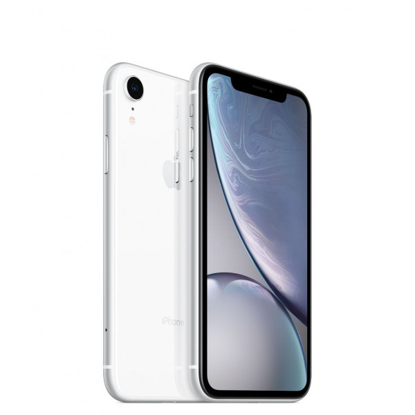 Apple iPhone XR Dual Sim 64GB (White) (MT132)