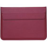 Чехол-конверт MacBook 11 PU sleeve bag (Wine Red)