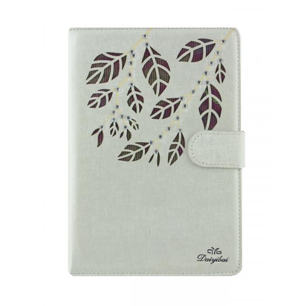 Чехол Книжка для iPad mini  DYB (Бежевый) (Полиулетан)