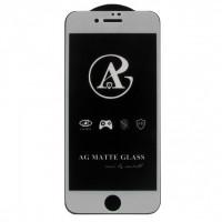 Защитое стекло AG matte для iPhone 7 Plus (Белый)