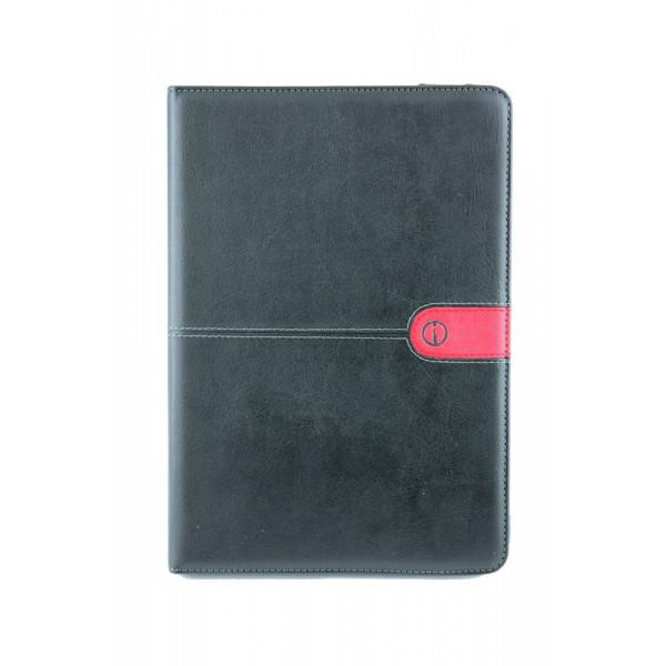 Чехол Книжка для iPad mini i Mobo (черный) (кожа)