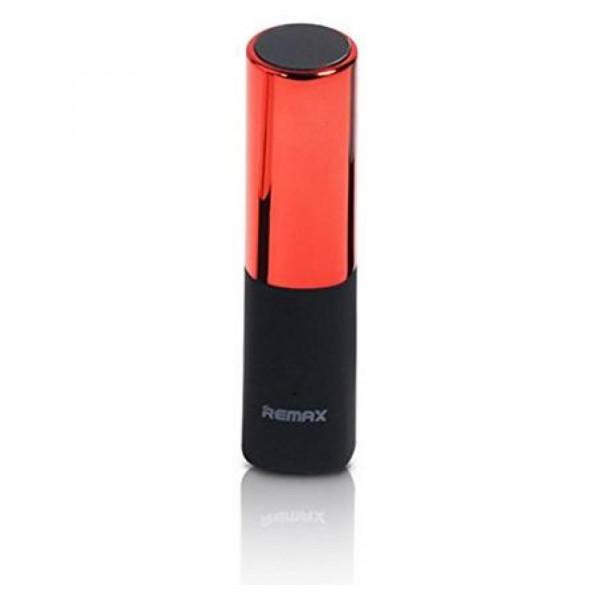 Портативное зарядное устройство REMAX Lipstick RPL-12 POWER BANK (2400mAh) (Красный)
