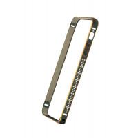Бампер для iPhone 5/5S COTEetCL Claps D (Черный) (Алюминий)