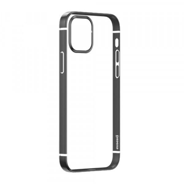 Чехол iPhone 12 Pro Max Baseus Shinig Case (Black)