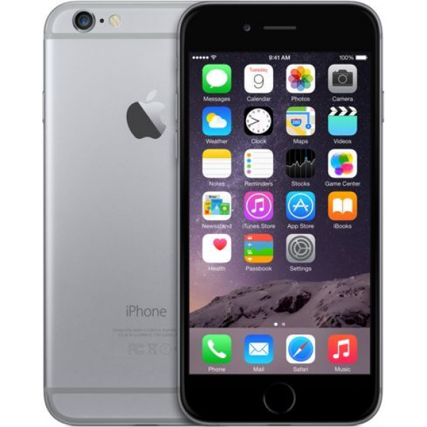 Apple iPhone 6 32GB (Space Gray) (MQ3D2)