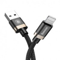 Кабель USB BASEUS Turn Series Lightning  (black-gold)