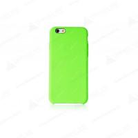 Чехол Накладка для iPhone 6 Plus Apple Silicone Case High Copy (Зелёный) (Силикон)