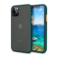 Чехол Накладка для iPhone 11 Pro Avenger Case (green)
