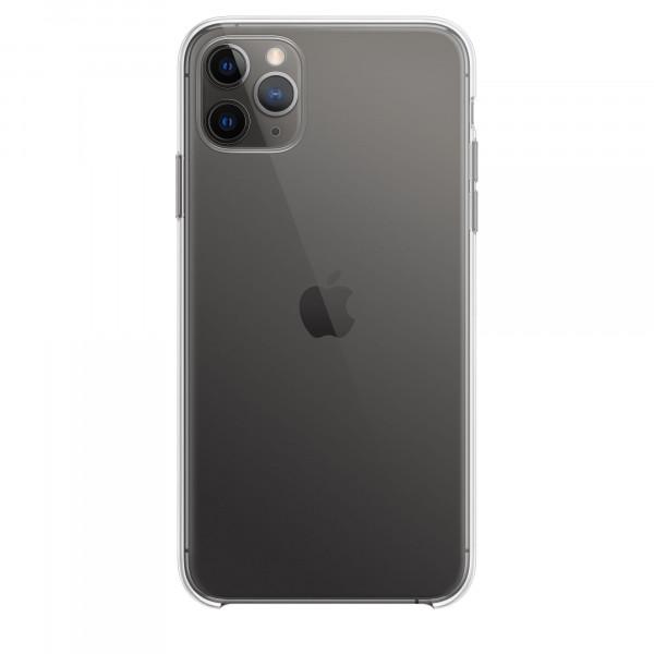 Чехол Накладка для iPhone 11 Pro Apple Clear Case (Transperent) (Полиулетан)