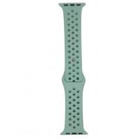 Ремешок-браслет для Apple Watch 38mm Sport Honeycomb (sea blue )