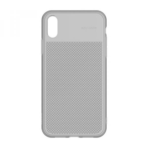 Чехол накладка iPhone Xr  Baseus Glistening  Case (transparent black)
