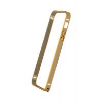 Бампер для iPhone 5/5S COTEetCL (Золотой+) (Алюминий)