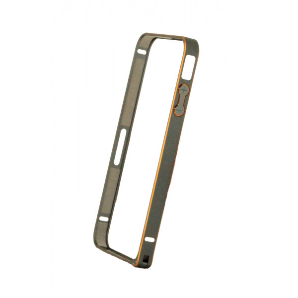 Бампер для iPhone 4/4S  COTEetCL CASE 0.7mm (Серый) (Алюминий)