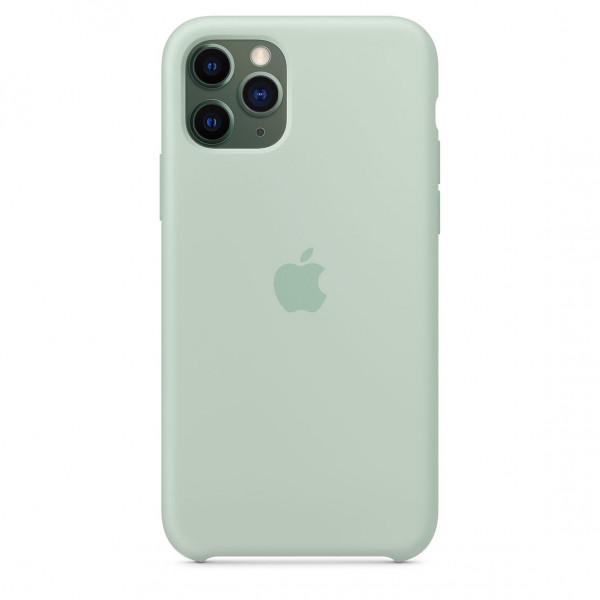 Чехол Накладка для iPhone 11 Pro Apple Silicon Case (Beryl) (Полиулетан)