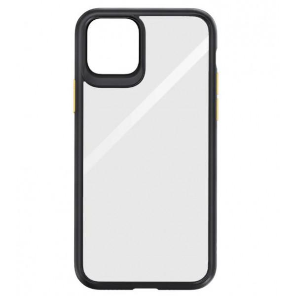 Чехол Накладка для iPhone 11 Rock Guard Series (black/yellow)