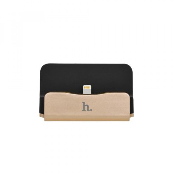 Dock станция Hoco USB Charging for iPhone CPh18 Gold