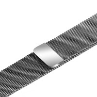 Ремешок-браслет для Apple Watch 42mm Milanese Loop Band (Silver)