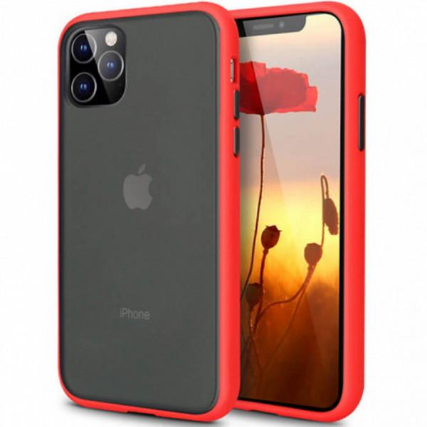 Чехол Накладка для iPhone 11 Avenger Case (red)