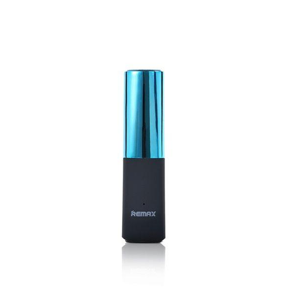 Портативное зарядное устройство REMAX Lipstick RPL-12 POWER BANK (2400mAh) (Голубой)